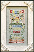 Country Cottage Needleworks - Seasonal Celebrations - Summer THUMBNAIL