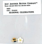 Jabco Button Pack - Country Cottage Needleworks - Seasonal Celebrations - Summer THUMBNAIL