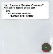 Jabco Button Pack - Country Cottage Needleworks - Classic Collection #9 - Christmas Birdhouse