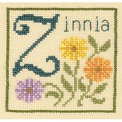 Elizabeth's Needlework - Z is for Zinnia