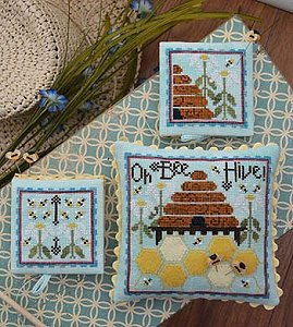 Hands On Design Oh Bee Hive Cross Stitch