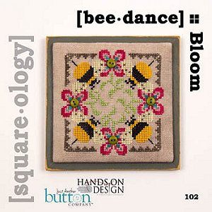 Just Another Button Company - Square.ology - Bee Dance 102 MAIN