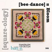 Just Another Button Company - Square.ology - Bee Dance 102 THUMBNAIL
