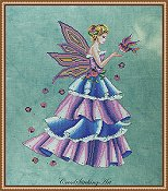 Cross Stitching Art - Florence, The Spring Fairy