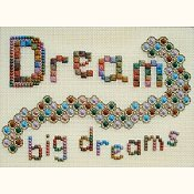Freda's Fancy Stitching - Dream Big Dreams