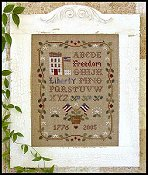 Little House Needleworks - Americana Sampling