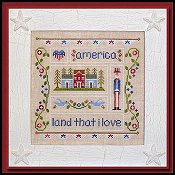 Country Cottage Needleworks - Land That I Love THUMBNAIL