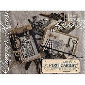 Summer House Stitche Workes - Postcards From The Heart - #4 Home