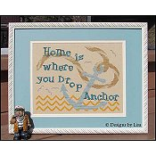 Designs By Lisa - Home Is Where You Drop Anchor THUMBNAIL