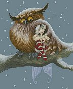 Lena Lawson Needlearts - Fairy and Owl