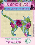 Lena Lawson Needlearts - Anemone Cat