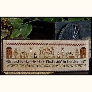 Little House Needleworks - Blessed Is The Life MAIN