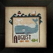 Heart In Hand Needleart - Joyful Journal - August THUMBNAIL