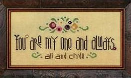 Heart In Hand Needleart - My One And Always MAIN
