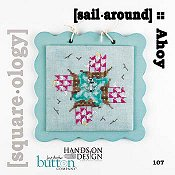 Just Another Button Company - Square.ology - Sail Around 107 THUMBNAIL