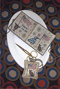 Chessie & Me - Lady Liberty Needlebook & Fob