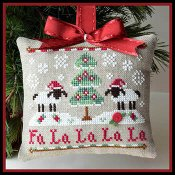 Country Cottage Needleworks - Classic Collection #11 - Fa La La THUMBNAIL
