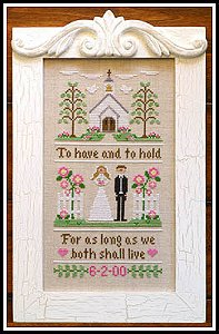 Country Cottage Needleworks - To Have And To Hold MAIN