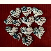 AuryTM Designs - Patriotic Hearts