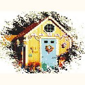 Ronnie Rowe Designs - Blue Door Shed