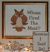 Charlette's Collectibles - Whooo Fired The Maid_THUMBNAIL