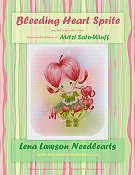 Lena Lawson Needlearts - Bleeding Heart Sprite THUMBNAIL