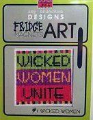 Amy Bruecken Designs - Fridge Art Magnet - #1 Wicked Women THUMBNAIL