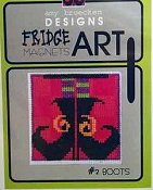 Amy Bruecken Designs - Fridge Art Magnet - #2 Boots