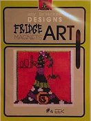 Amy Bruecken Designs - Fridge Art Magnet - #4 Eek THUMBNAIL
