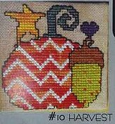 Amy Bruecken Designs - Fridge Art Magnet - #10 Harvest THUMBNAIL