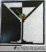 Amy Bruecken Designs - Fridge Art Magnet - #11 Yes Please