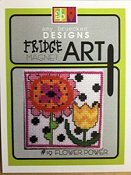 Amy Bruecken Designs - Fridge Art Magnet - #19 Flower Power