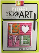 Amy Bruecken Designs - Fridge Art Magnet - #20 Love