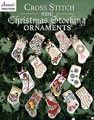 Annie's Cross Stitch - Cross Stitch Mini Christmas Stocking Ornaments THUMBNAIL