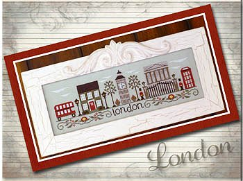 Country Cottage Needleworks - Afternoon in London MAIN