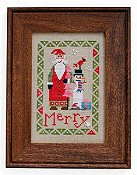 Heart In Hand Needleart - Wee One - Wee Santa 2015 THUMBNAIL