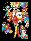 Vickery Collection - Happy Clowns