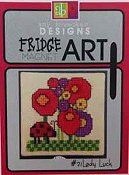 Amy Bruecken Designs - Fridge Art Magnet - #21 Lady Luck