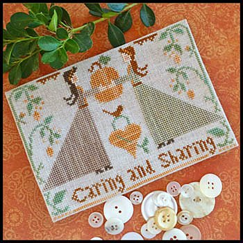 Little House Needleworks - Caring and Sharing MAIN