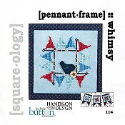 Just Another Button Company - Square.ology - Pennant Frame 114