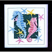 Bobbie G Designs - Frolicking Sea Horses