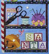 SamSarah Design Studio - Santa's Cabinet - Mending Kit THUMBNAIL