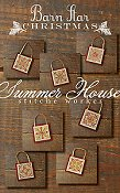 Summer House Stitche Workes - Barn Star Christmas THUMBNAIL