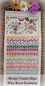Lindsay Lane Designs - Maria Ceron 1830 Her Band Sampler