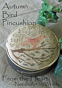 From The Heart - Autumn Bird Pincushion