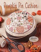 Jeannette Douglas Designs - Pumpkin Pin Cushion_THUMBNAIL