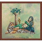 Cross Stitching Art - Cleopatra