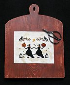 Primitive Needleworks - Hallows Eve Dance