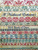 cover of Needle Work Press - Book of Days 2016 Cross Stitch calendar