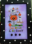 Amy Bruecken Designs - Eat Drink & Be Scary